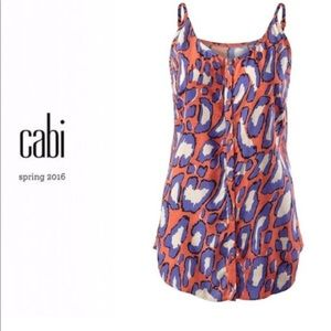 Cabi Spring 16 Isla Cami sIze Large